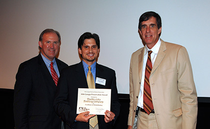 receiving building renovation award